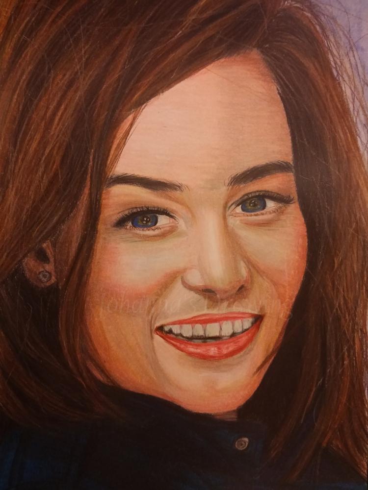 Emilia Clarke by johannasdrawing